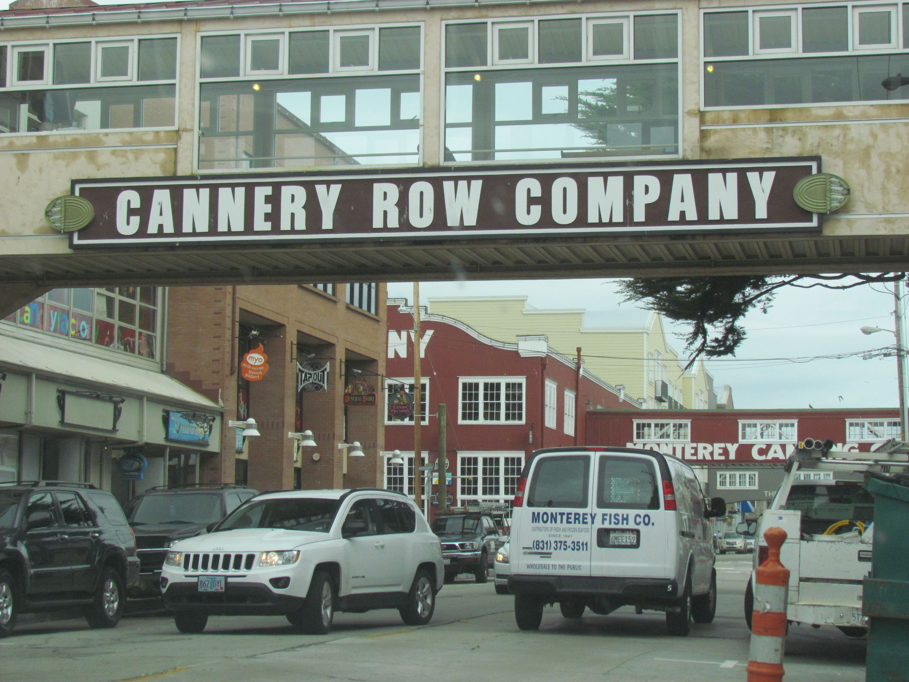 Cannery Row, Monterey, CA. I spent the morning/early ...