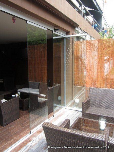 Cortina de cristal para restauración Terraza Pinterest - cortinas para terrazas