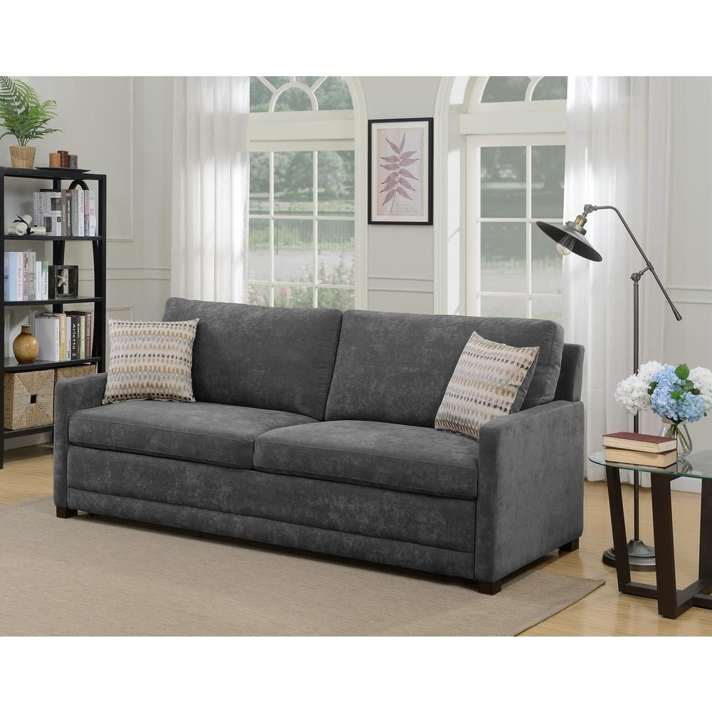 Miraculous Serta Chelsea Queen Size Sleeper Convertible Sofa Gray Evergreenethics Interior Chair Design Evergreenethicsorg