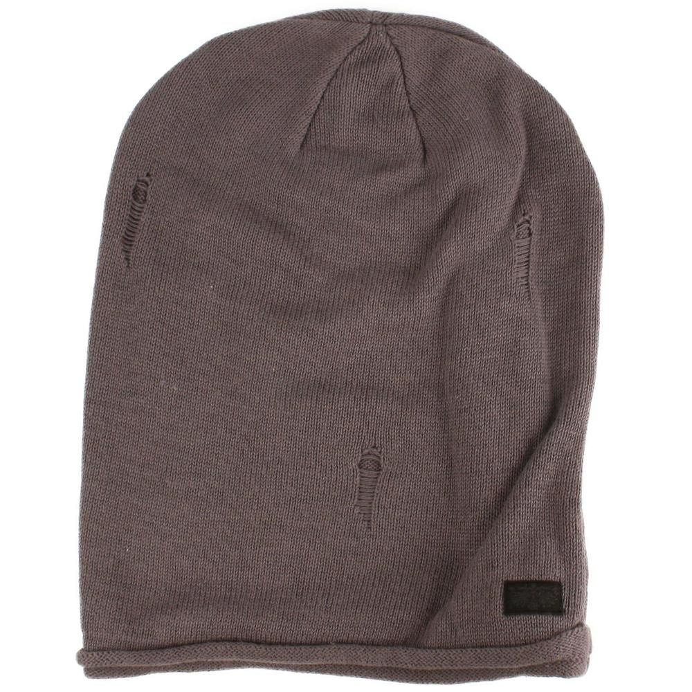 d5f278e6ced Men s Winter Distress 2ply Knit Lined Slouchy Big Beanie Skull Ski Hat Cap  Gray  fashion  clothing  shoes  accessories  mensaccessories  hats (ebay  link)
