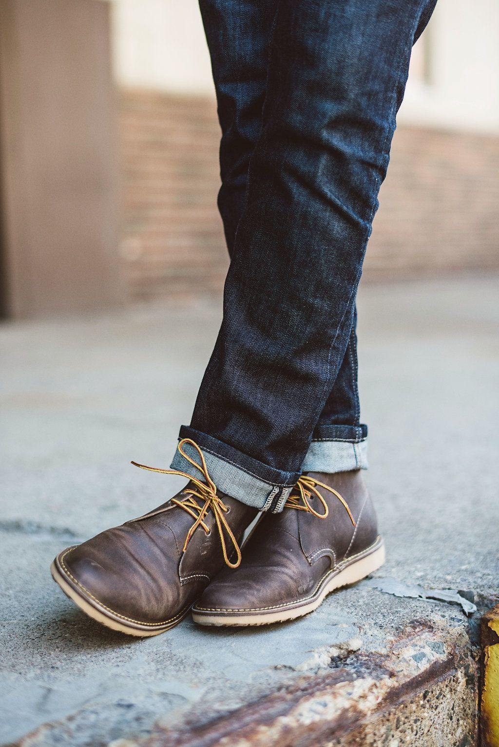 Red Wing Desert Boots