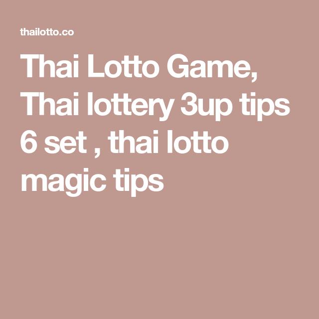 008 Thai Lotto Game, Thai lottery 3up tips 6 set , thai lotto