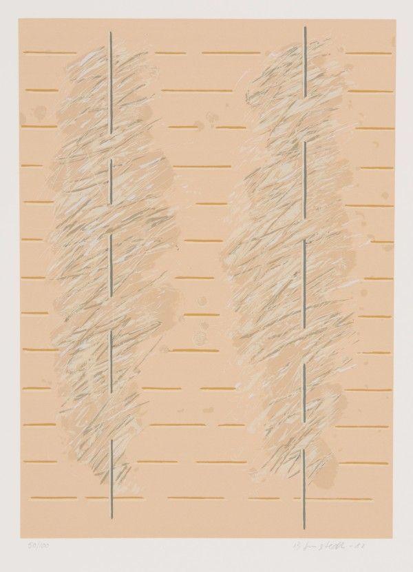 Juhana Blomstedt: Sarjasta Runoja, 1982, serigrafia, 50x35 cm, edition 100 - Galleria Bronda