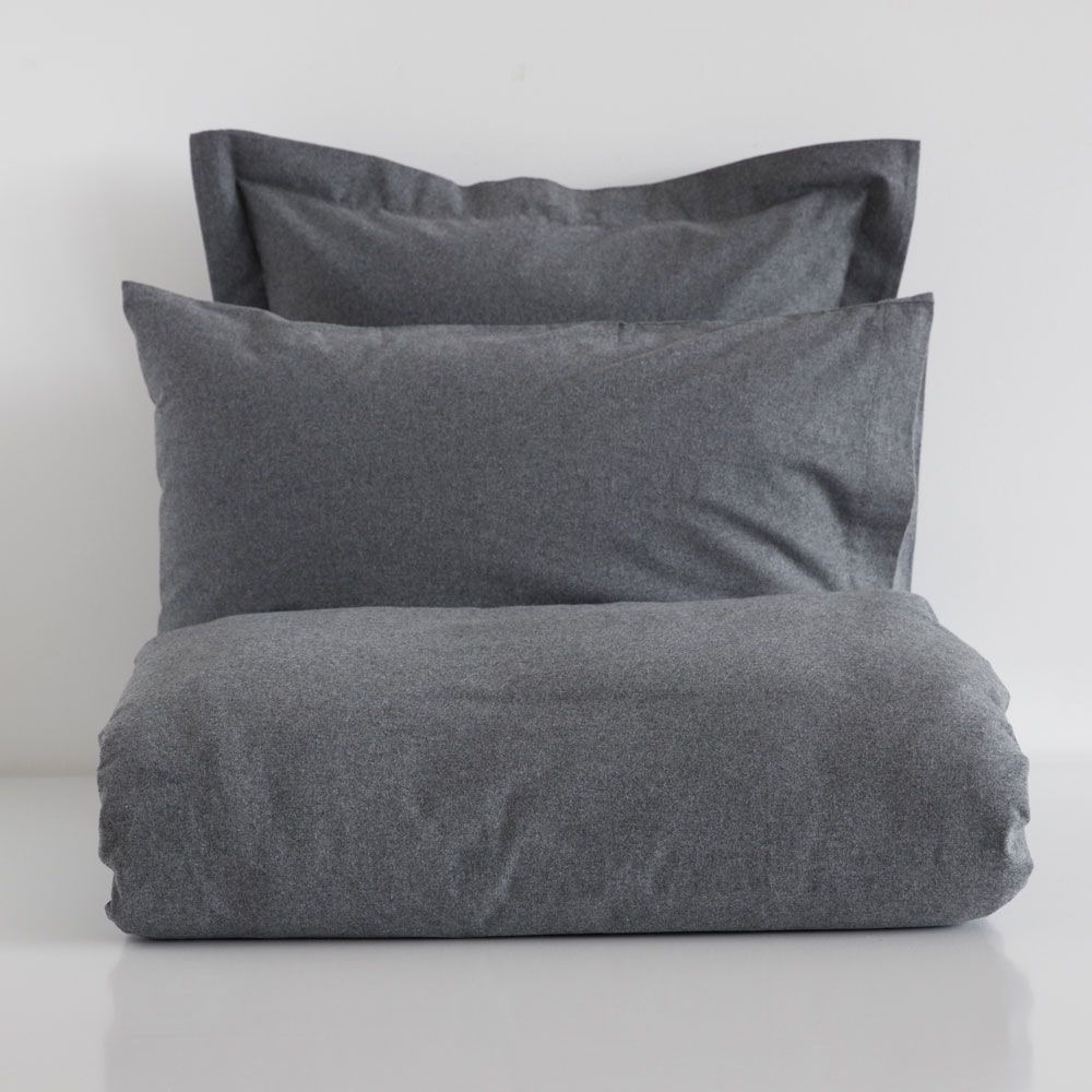Grey Flannel Bed Linen Bed Linen Bedroom Zara Home Netherlands