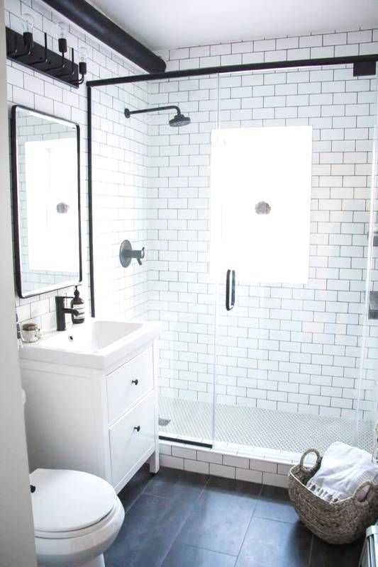 Photo of 12 Small Bathroom Makeovers That Make the Most of Every Inch – Haus Dekoration #…