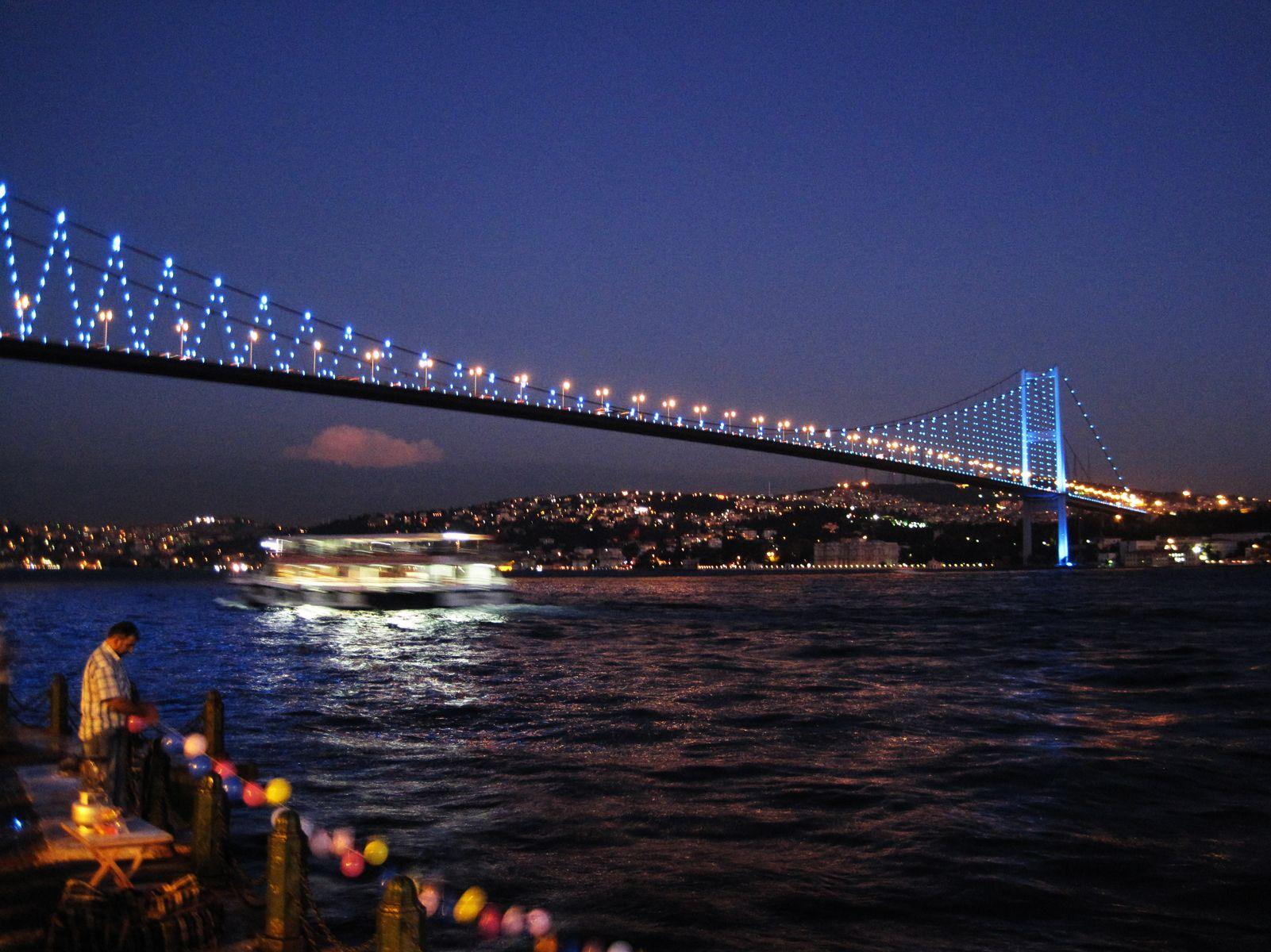 Istanbul Bridge Turkey Wallpaper