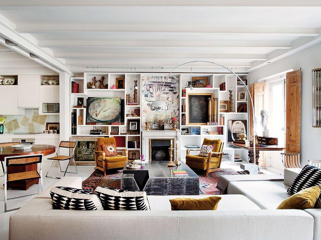 Interiors aimee joaristi 39 s art filled apartment madrid - Pisos reformados madrid ...