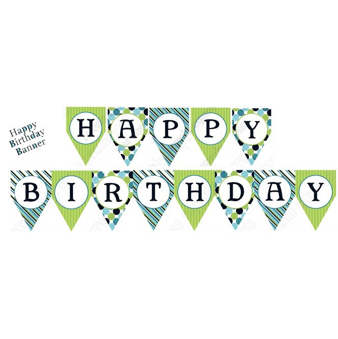 Train Printable Birthday Banner DIY SIgn | George's 1st Birthday ...
