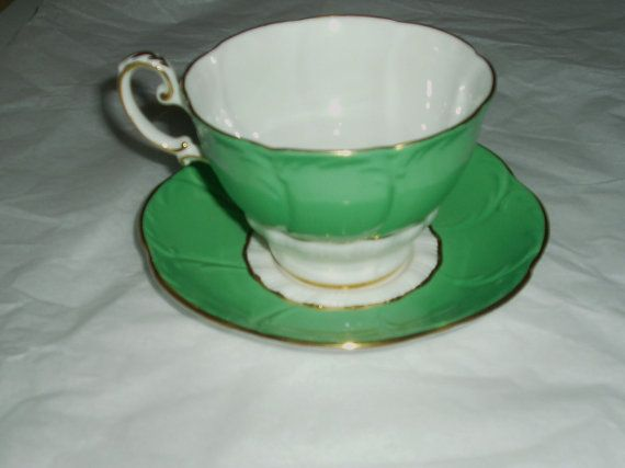 Vintage Paragon fine china vintage teacup and by DivaDecades