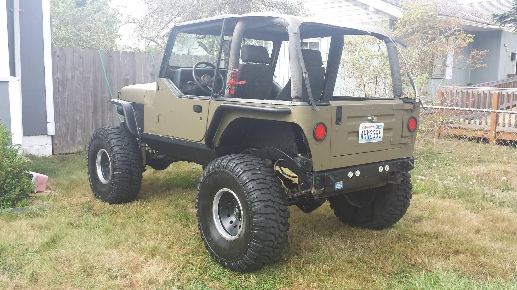 My Yj Build Jeep Wrangler Forum Jeep Yj Jeep Wrangler Forum