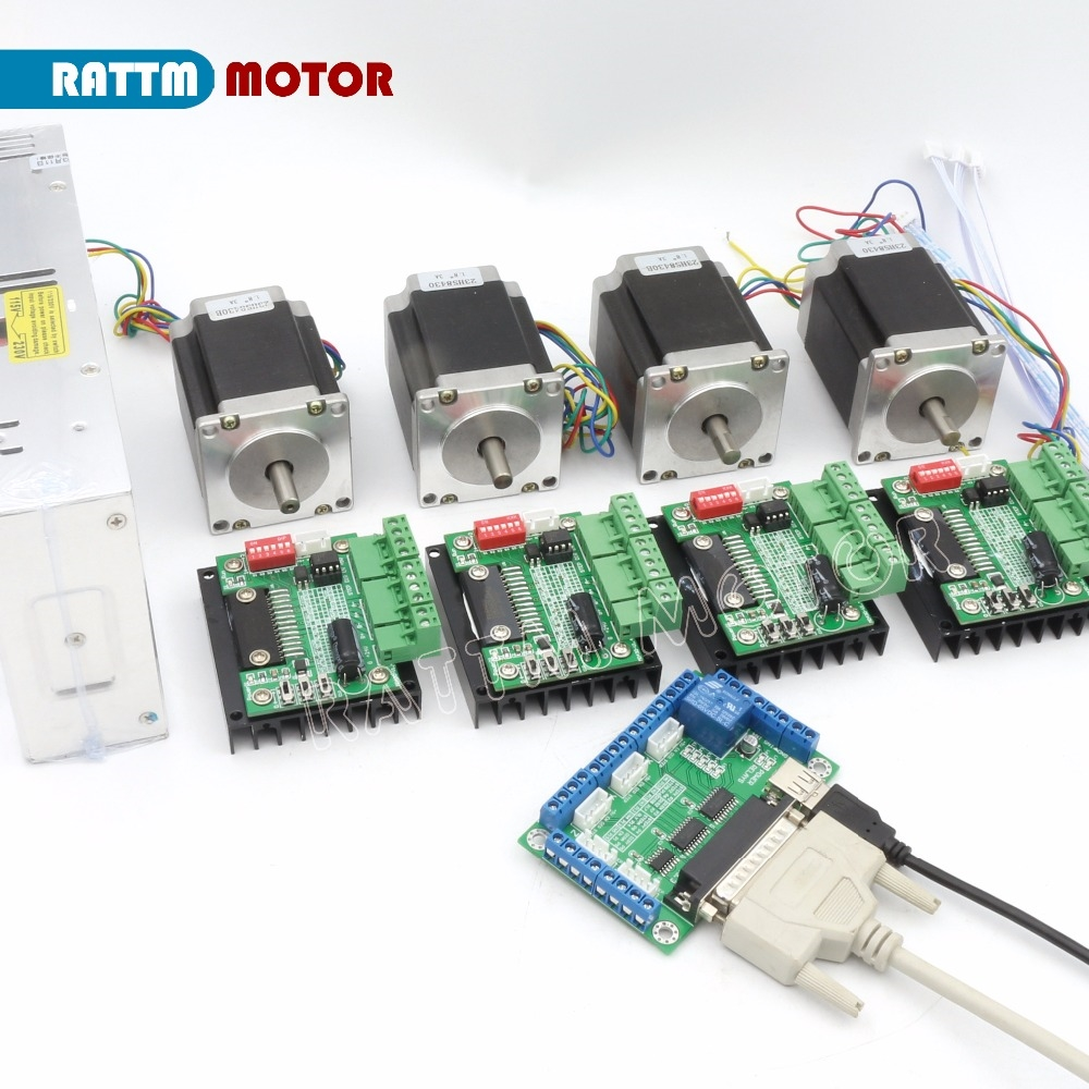 11395 Know More Eu Ru Delivery 4axis Cnc Router Kit Electric Circuits Equipment Tb6560 Driver