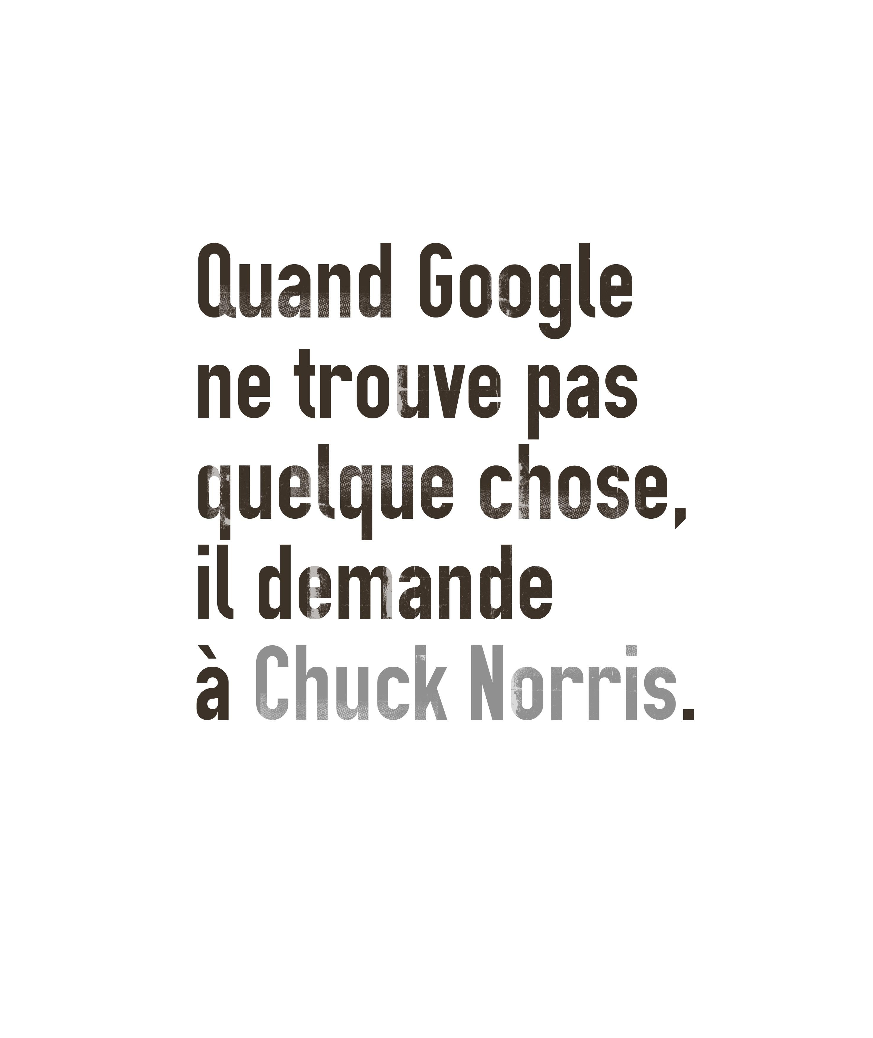 Chuck is obvious