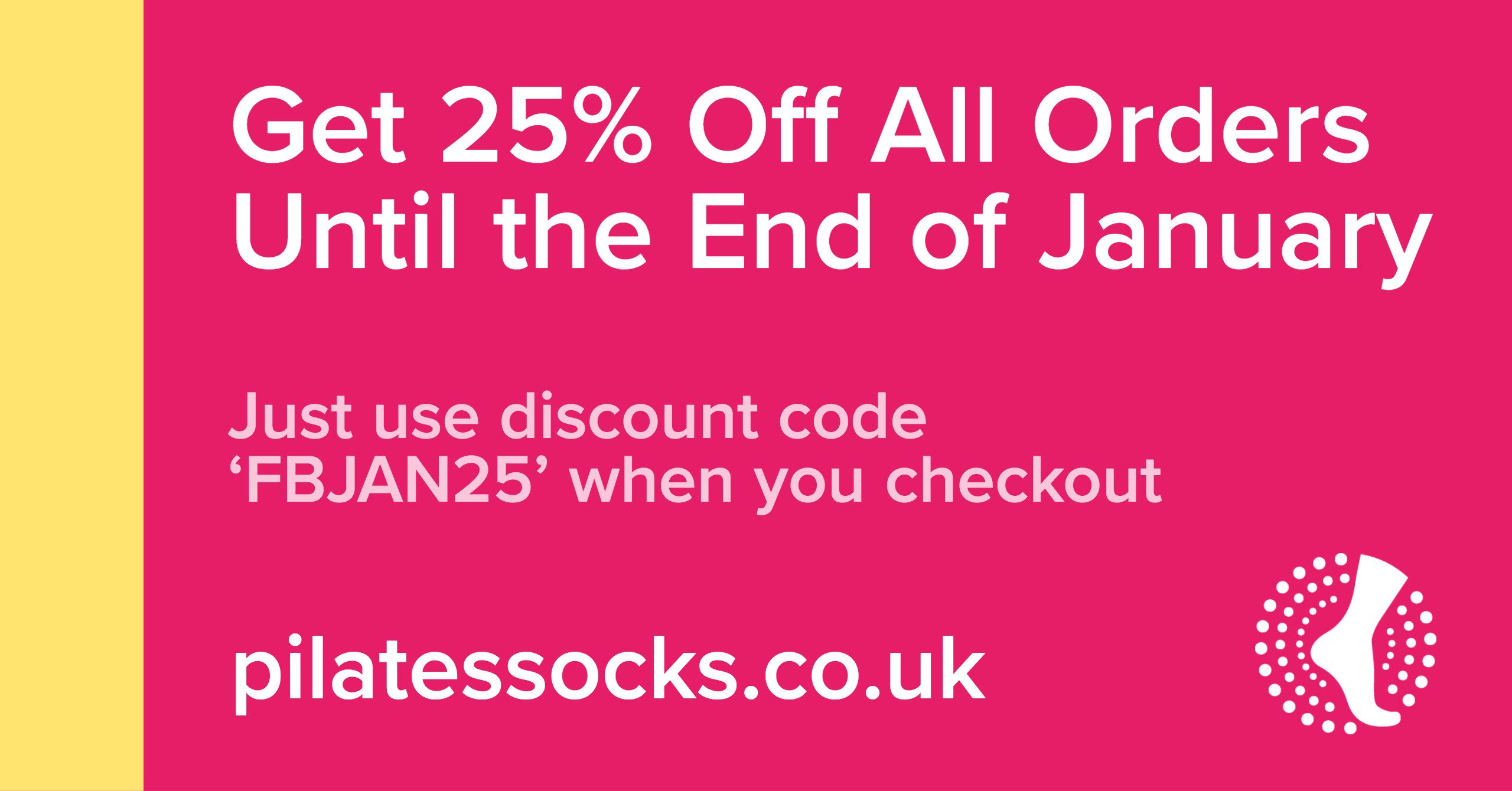 Discount Code! Use this code to get 25 off any order