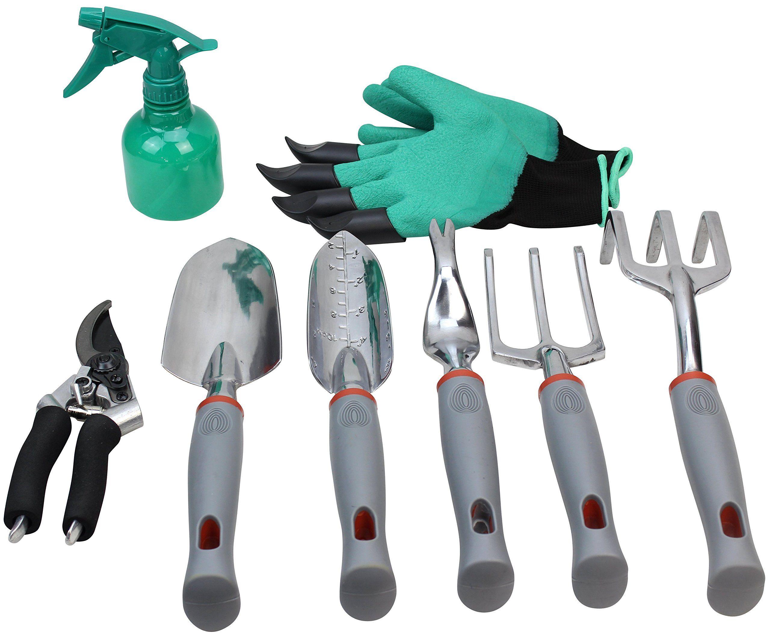 Gardening Tools Set Garden Tools Kit Gardening Gloves 9 Piece