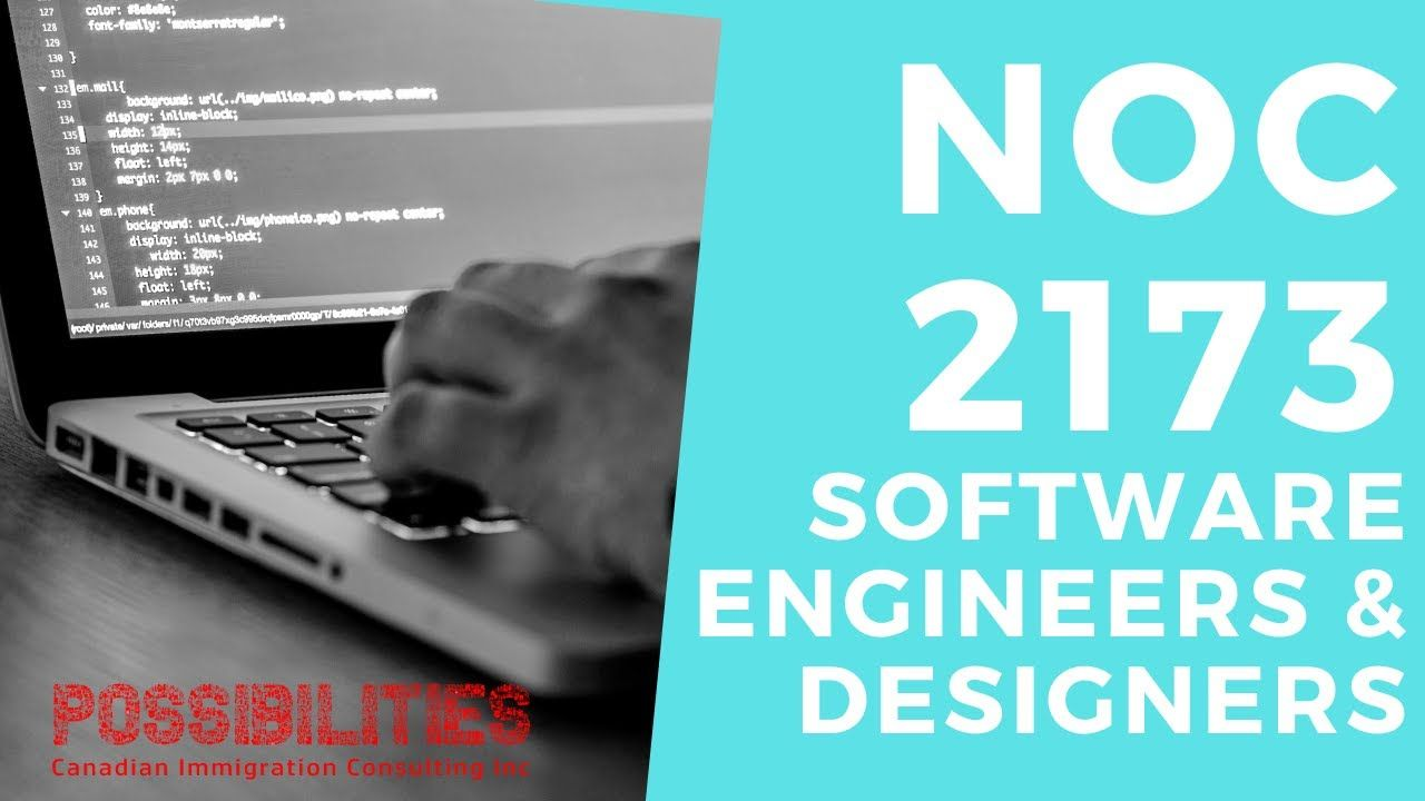 NOC 2173 Software Engineers and Designers in 2020