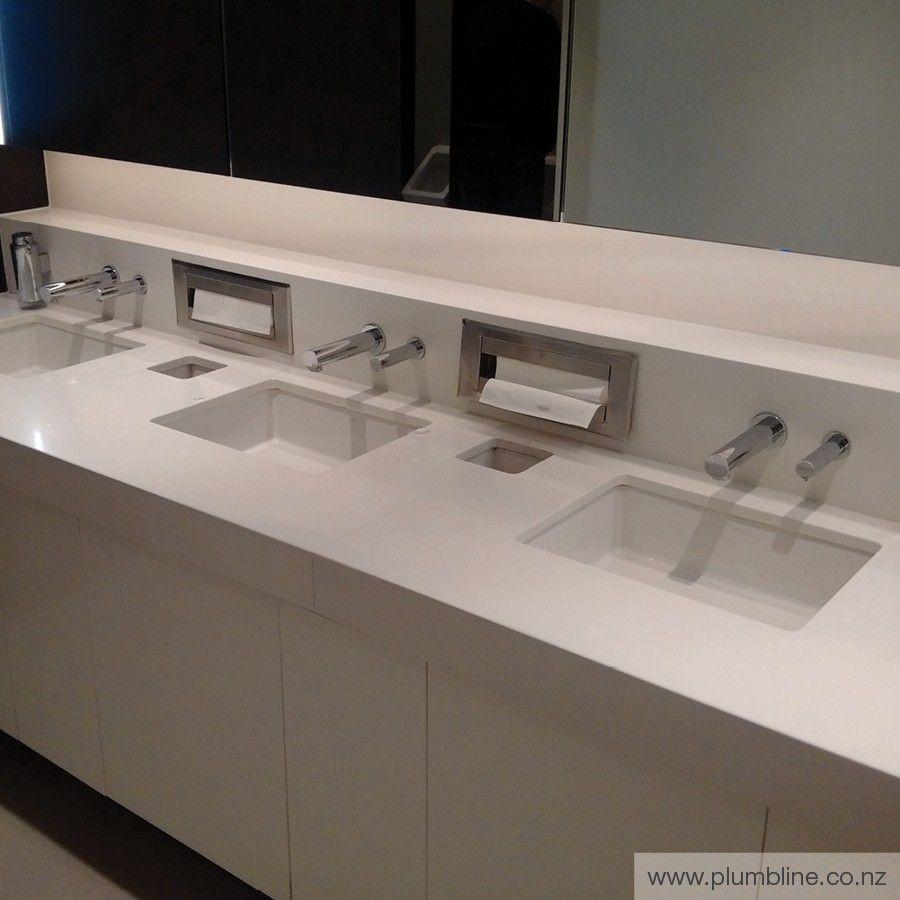 Tubular 120mm Sensor Wall Mount Soap Dispenser Battery