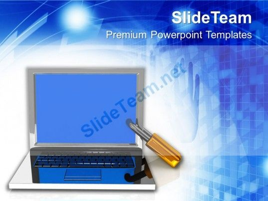 Laptop the concept of information security powerpoint templates ppt laptop the concept of information security powerpoint templates ppt themes and graphics powerpoint templates toneelgroepblik Images