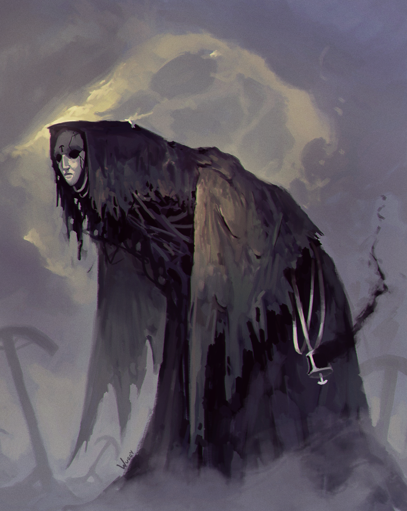 Carrion Witch By Ari Matti Toivonen Fantasy Monster Creepy Art