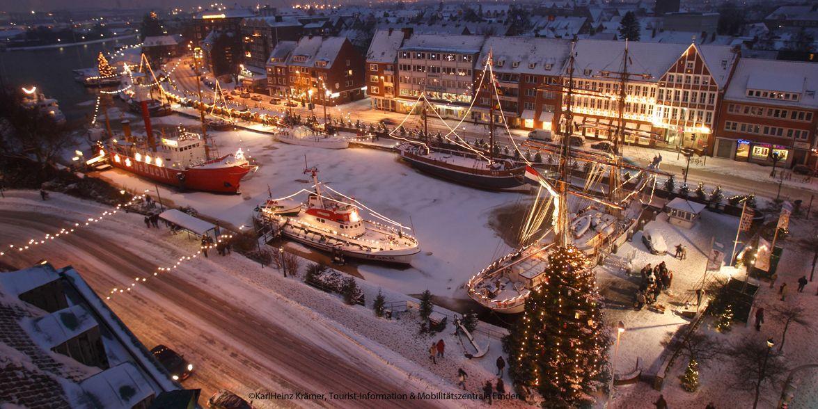 Weihnachten in Ostfriesland: Emder Engelkemarkt