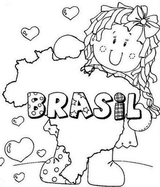 Desenhos Para Imprimir Colorir E Pintar Independencia Do Brasil