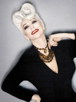 carmen dell'orefice At 79, she's one of the oldest working supermodels — and one of the best-looking silver-haired sirens.