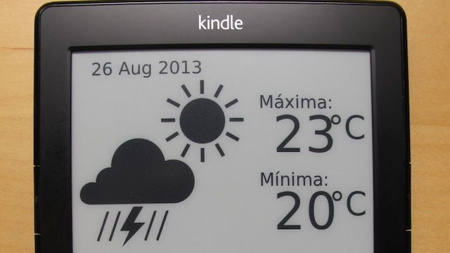 Add Weather And Google Calendar Information To Your Kindle Google Calendar Kindle E Ink Display