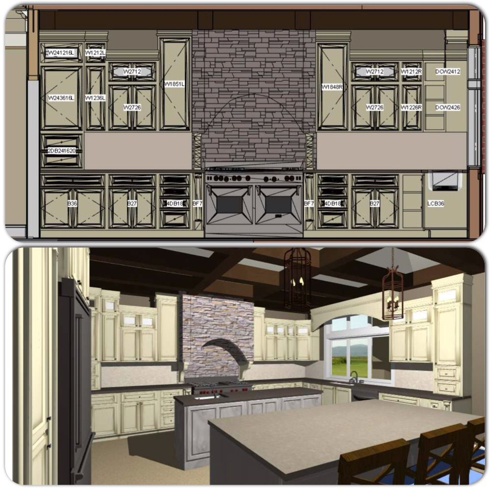 Kitchen Design Done With Chief Architect Chief Architect