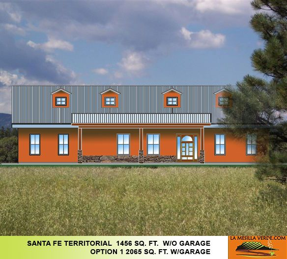 house new mexico territorial house plans - Territorial House Plans