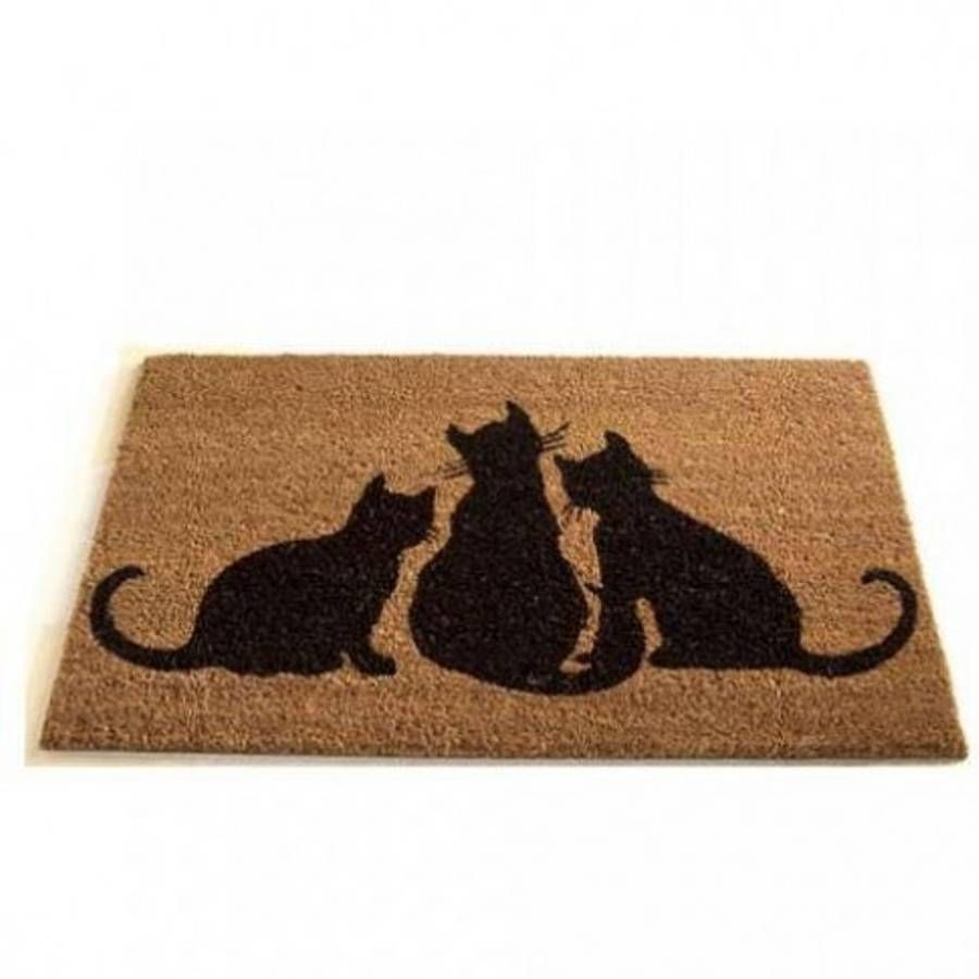 Coir Doormat Cats