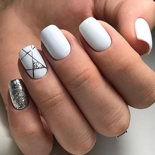 Photo of 52 Geometrische Nail Art Ideen