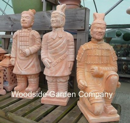 Large Chinese Terracotta Army Arm To Side Garden Ornament | Woodside Garden  Centre | Pots To