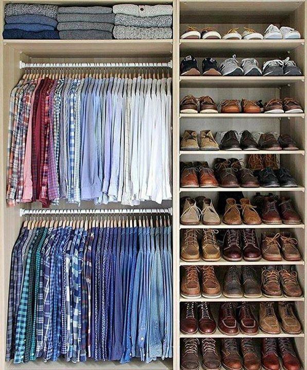 Men S Wardrobe Closet Ideas