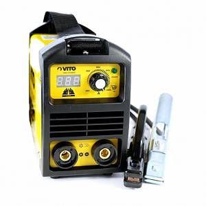 Photo of VITO Pro-Power Poste a souder inverter numerique VITO 140 – soudure à l'arc -ba…