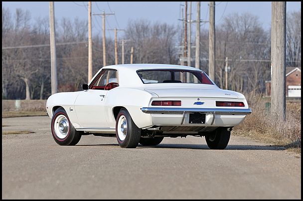 "1969 Chevrolet COPO Camaro ""HoosierHell) L72 427/425HP, M22 4-Speed, HD 12bolt Posi & F41 handling package Hoosier Hell"