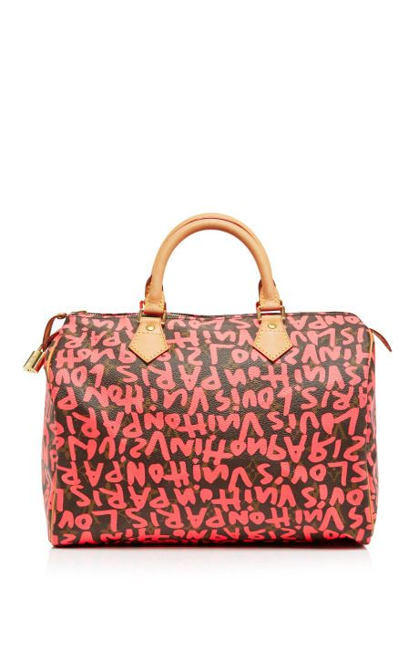 c6a1f166ace Vintage Louis Vuitton 30Cm Sprouse Graffiti Speedy by Vintage Louis Vuitton  for Preorder on Moda Operandi