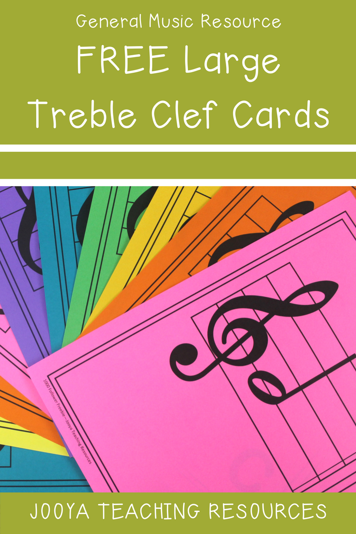 photograph regarding Large Printable Music Notes identified as Audio Cl Decor - Treble Clef Audio Observe Playing cards Audio