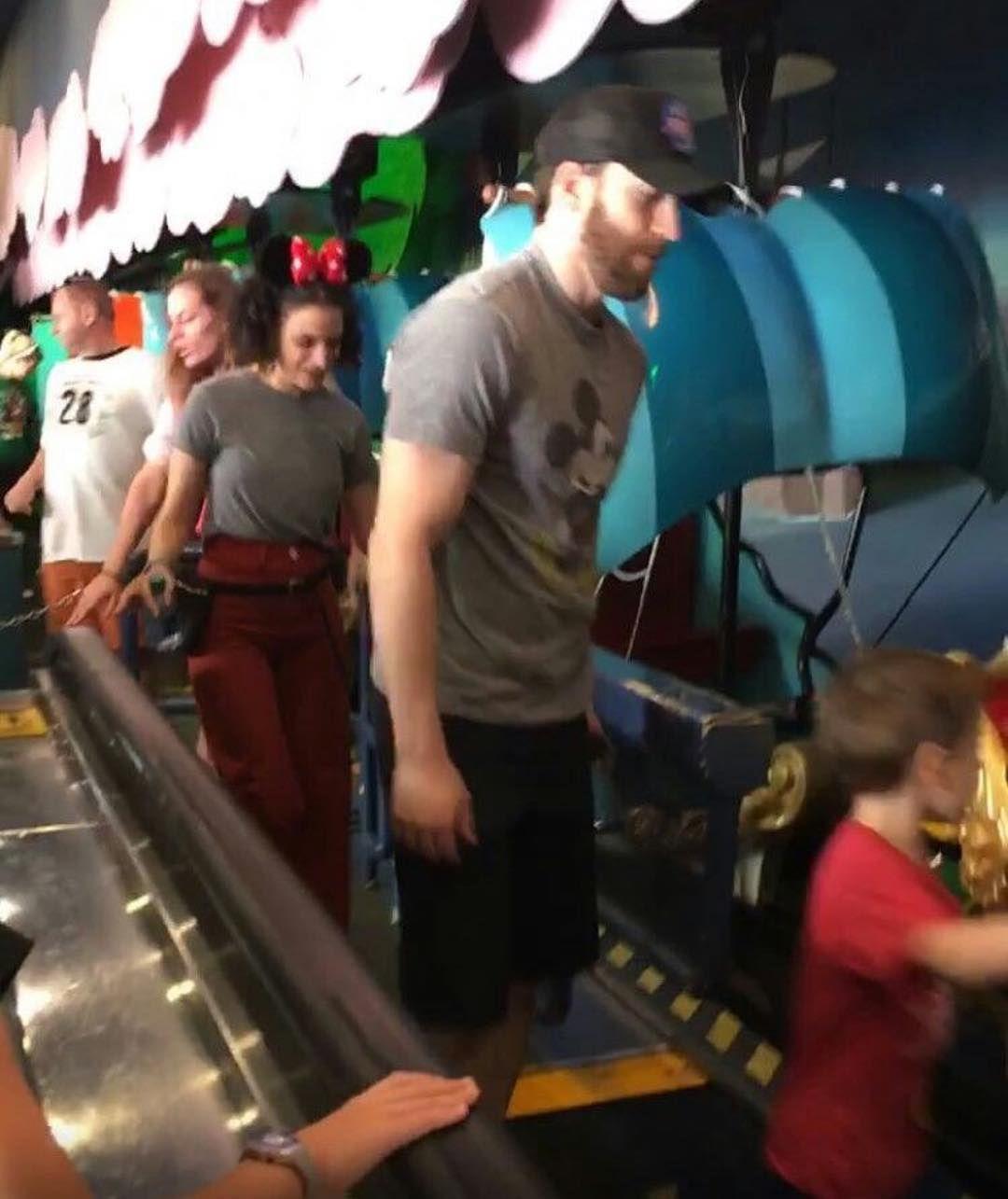 New Photo: Chris Evans at Disney World Today! #ChrisEvans