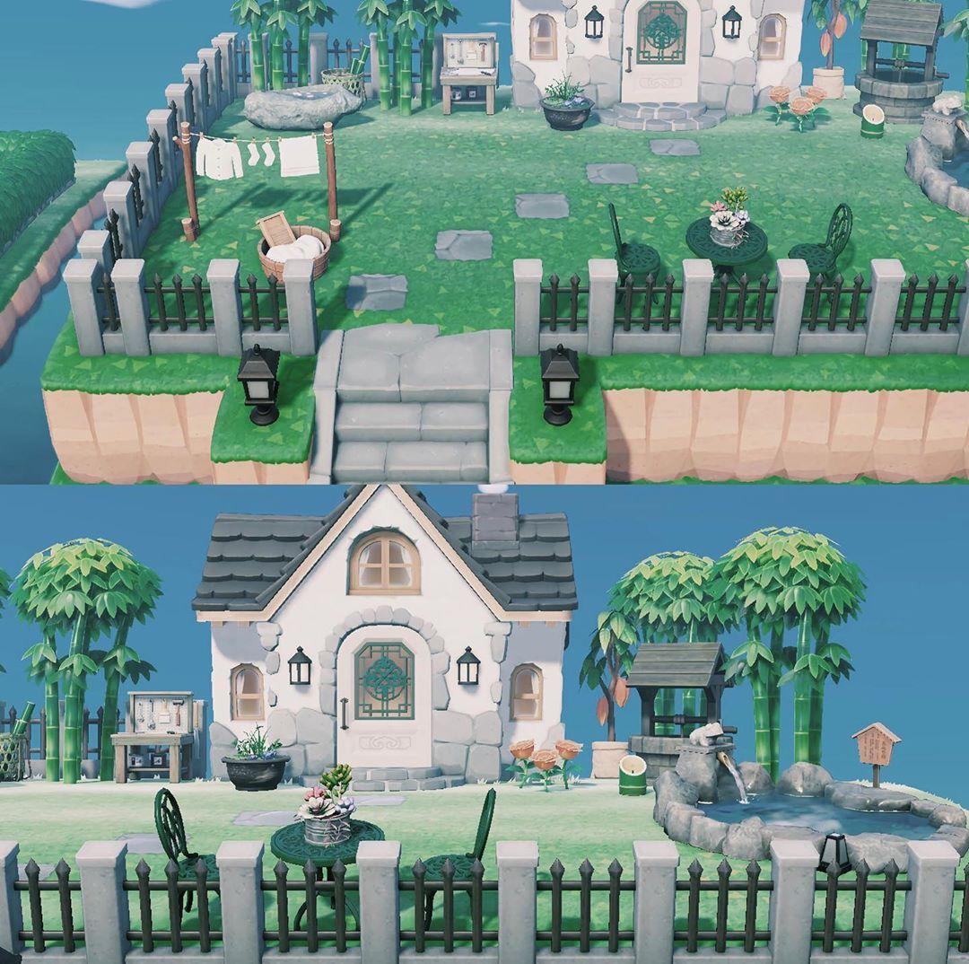 Exterior House Design Animal Crossing Inspo - BESTHOMISH