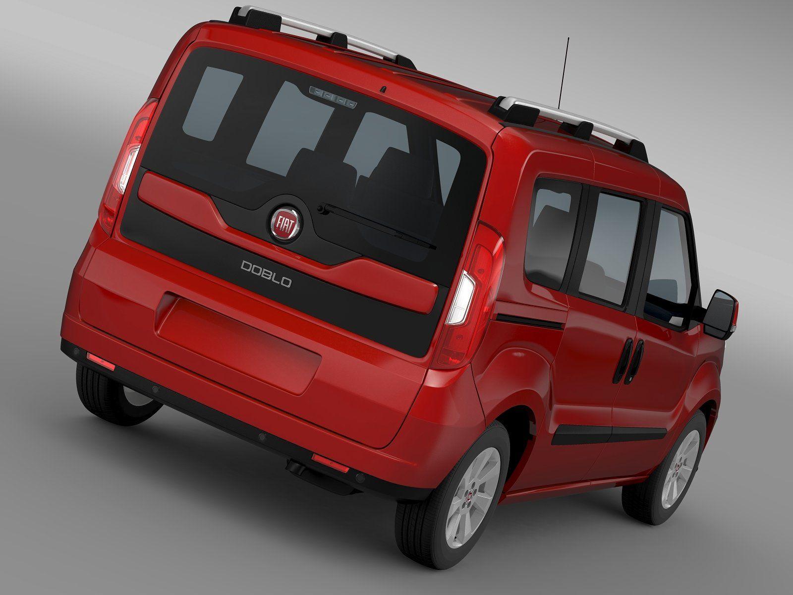 Fiat Doblo 152 2015 Autodesc Maya Model Correctly Vauxhall