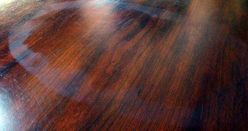 Sacar manchas de agua de la madera con bicarbonato de sodio y mayonesa hogar manchas de agua - Como quitar rayones del piso vinilico ...