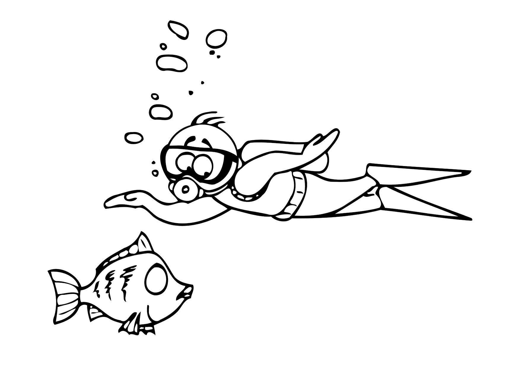 Gerelateerde Afbeelding Kleurplaten Zwemmen Peuters En Kleuters