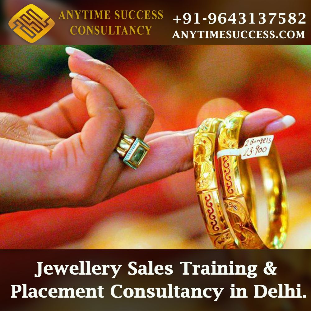 Jewellery Sales Training & Placement Consultancy in Delhi