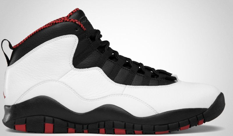 Cheap Air Jordan Retro 10 (X) Chicago Bulls White Varsity Red Black 2012 UK  Outlet Online