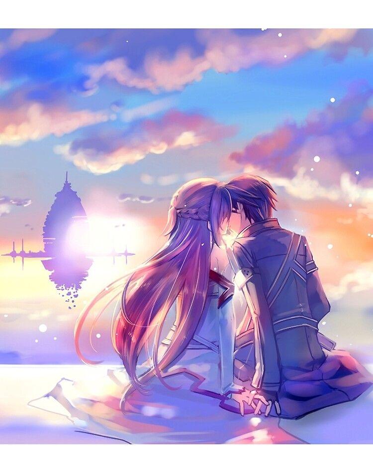 Best Couple Asuna And Kirito Ipad Snap Case by Jessika Ray