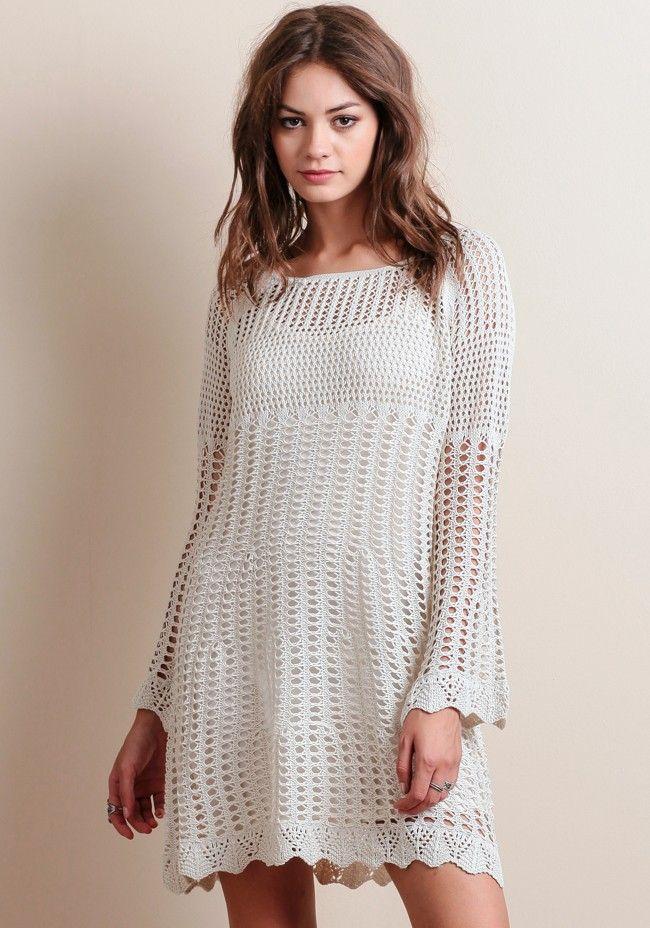 Oak Canyon Crochet Dress - New Arrivals