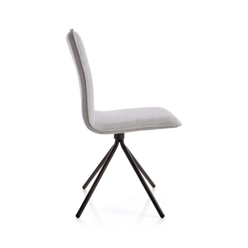 Surprising Whirl Grey Swivel Dining Chair Products Swivel Dining Ncnpc Chair Design For Home Ncnpcorg