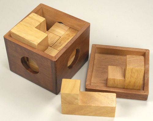 how to solve wooden box puzzle