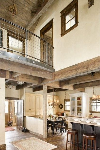 Rustic kitchen by Coburn Development East oly Pinterest Rustic