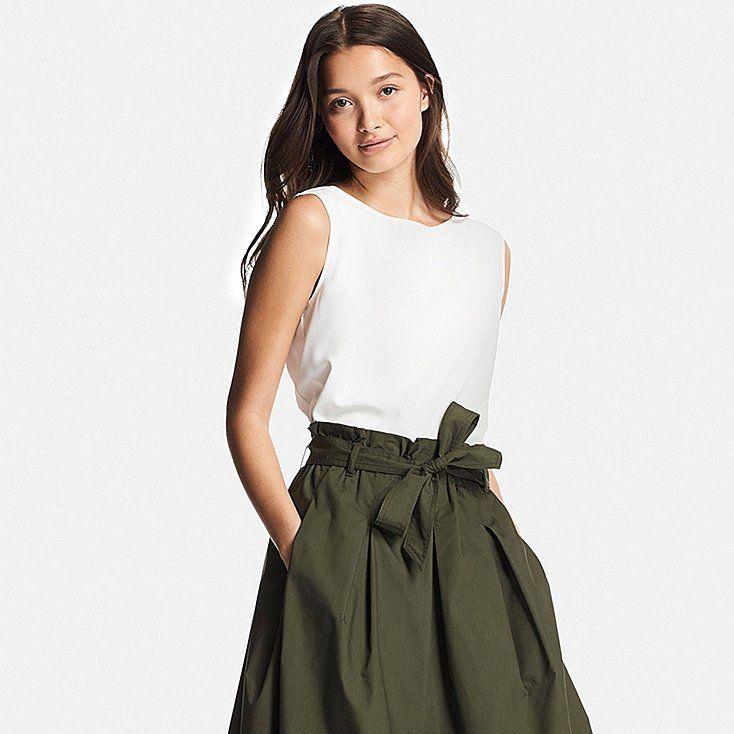 2e0701108cb Women drape sleeveless blouse