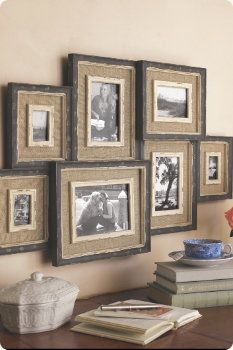 rustic picture frames collages. Brocante Collage Frame - Multi Picture Wall Frame, Home Accents, Decor Rustic Frames Collages L